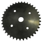 """Sprocket"" #80 x 30 dents pour souffleuse trou de guide 1 1/4 po"
